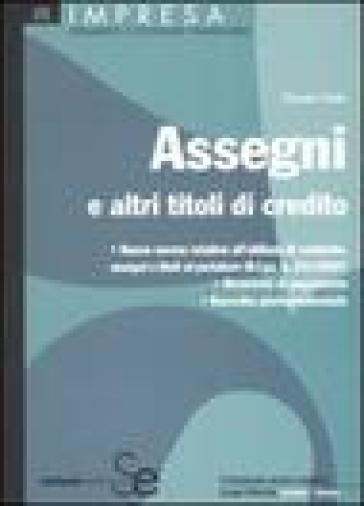 Assegni e altri titoli di credito - Renato Votta pdf epub