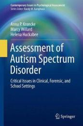 Assessment of Autism Spectrum Disorder