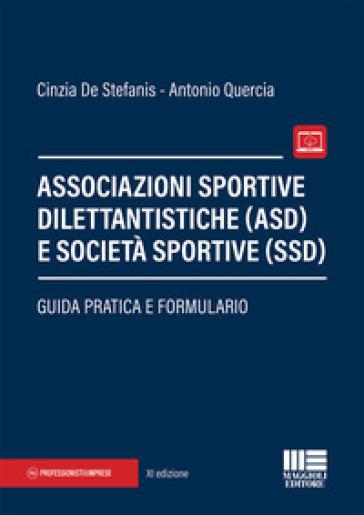 Associazioni sportive dilettantistiche (ASD) e società sportive (SSD) - Cinzia De Stefanis pdf epub