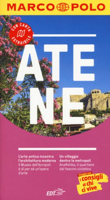 Atene. Con carta estraibile - Klaus Botig   Rochesterscifianimecon.com