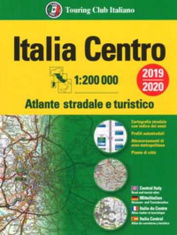 Atlante stradale Italia Centro 1:200.000. Ediz. multilingue -  pdf epub