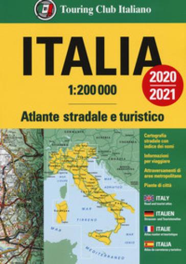 Atlante stradale Italia 1:200.000. Ediz. italiana, inglese, francese, tedesca e spagnola