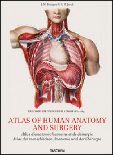 Atlas of human anatomy and surgery. Ediz. inglese, francese e tedesco
