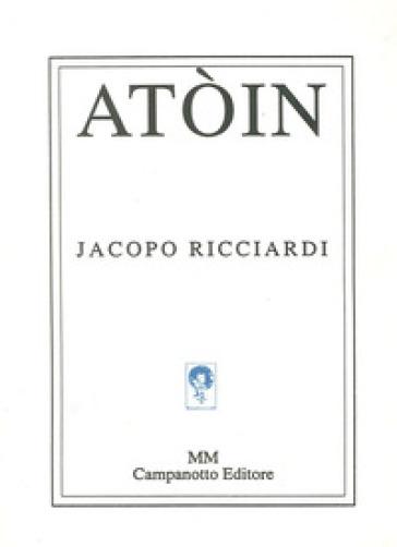 Atòin - Jacopo Ricciardi |