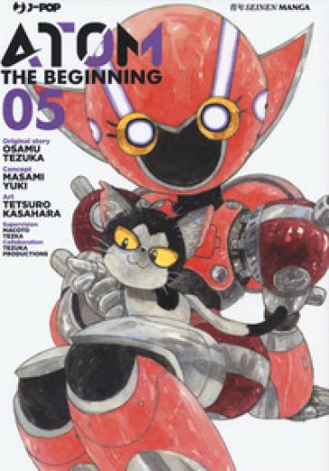 Atom. The beginning. 5. - Osamu Tezuka  