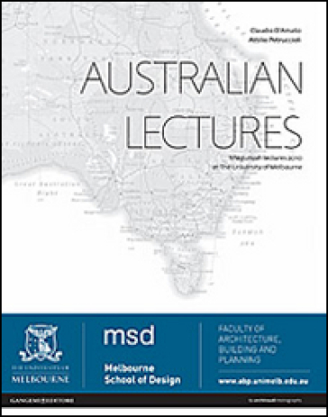 Australian lectures. Miegunyah lectures 2010 at the University of Melbourne