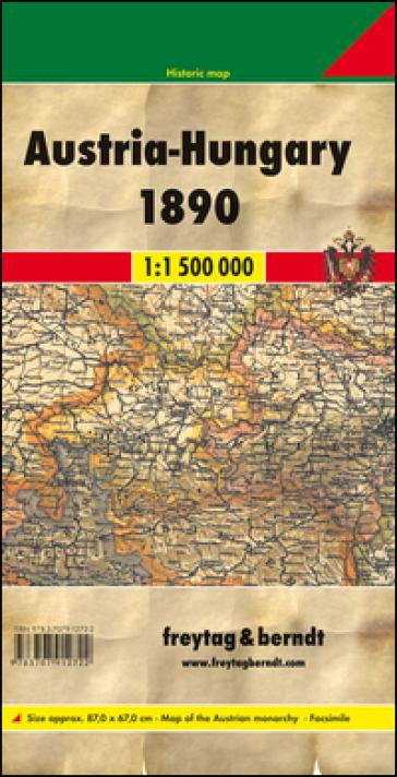 Austria-Hungay 1:1.500.000