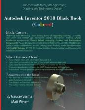 Autodesk Inventor 2018 Black Book (Colored)