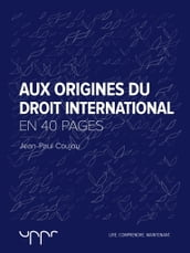 Aux origines du droit international - En 40 pages