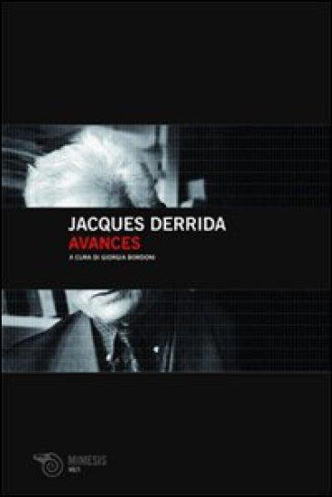 Avances - Jacques Derrida |