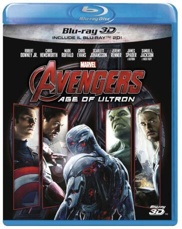 Avengers - Age Of Ultron (3D) (Blu-Ray+Blu-Ray 3D)