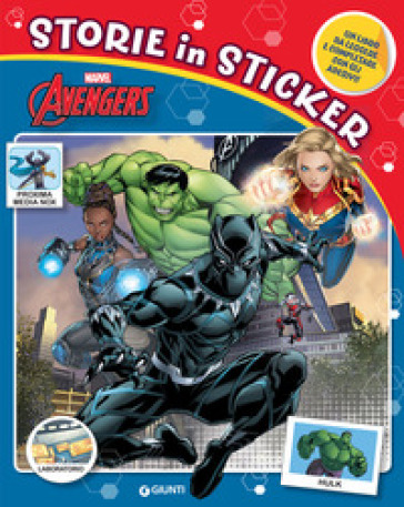 Avengers. Storie in sticker. Ediz. a colori -  pdf epub