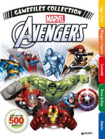 Avengers gamefiles collection. Con adesivi -  pdf epub