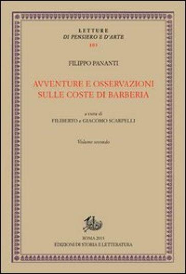 Avventure e osservazioni sulle coste di Barberia. 2. - Filippo Pananti |