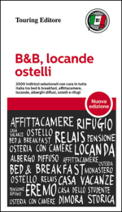 B&B, locande, ostelli