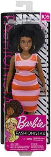 Barbie Fashionistas Doll  Bold Stripes