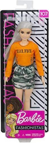 Barbie Fashionistas Doll  Malibu Camo