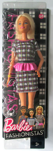 Barbie Fashionistas n58 Peplum Power