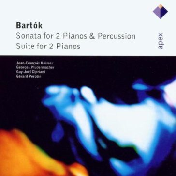 Bartok : sonata for 2 pianos &
