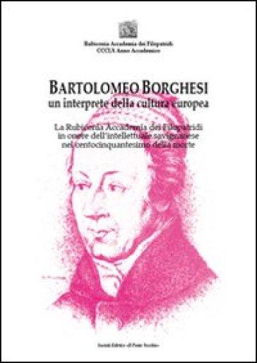Bartolomeo Borghesi un interprete della cultura europea - E. Turci | Ericsfund.org
