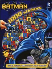 Batman. 1000 stickers