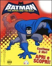 Batman. The brave and the bold: Supereroe. Armi, mosse, poteri-Libro puzzle (2 vol.)