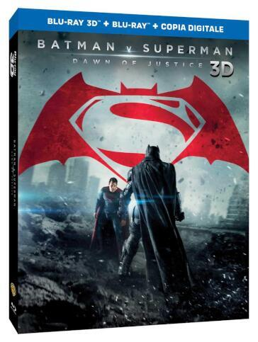 Batman V Superman - Dawn of justice (2 Blu-Ray)(2D+3D) (ultimate edition)