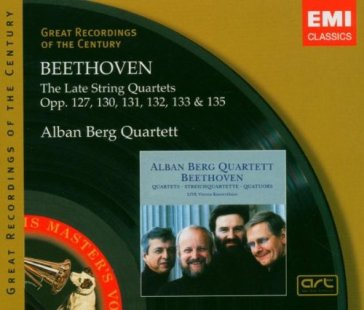 Beethoven: the late string qua