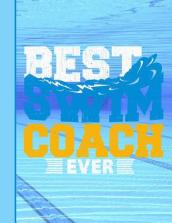 Best Swim Coach Ever Notebook