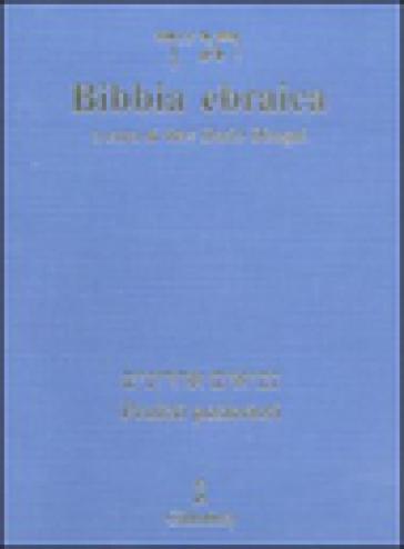Bibbia ebraica. Profeti posteriori. Testo ebraico a fronte - D. Disegni   Ericsfund.org