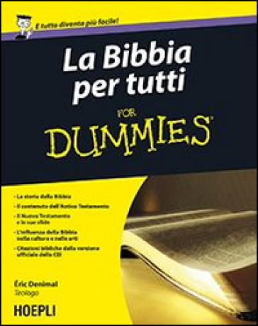 La Bibbia per tutti For Dummies - Eric Denimal | Rochesterscifianimecon.com