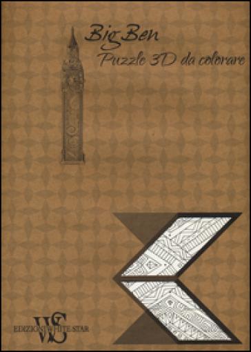 Big Ben Puzzle 3d Da Colorare Libro Mondadori Store