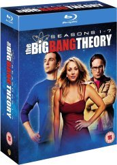 Big bang theory - seasons 1-7 (lingua inglese)