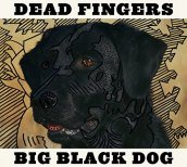 Big black dog