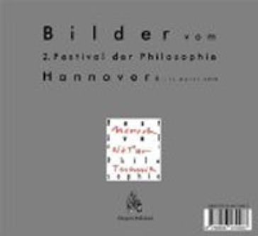 Bilder vom. 2: Festival der Philosophie (Hannover, 8-11 april 2010) - A. Verrone |