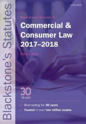 Blackstone s Statutes on Commercial & Consumer Law 2017-2018