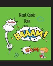 Blank Comic Book for Kids