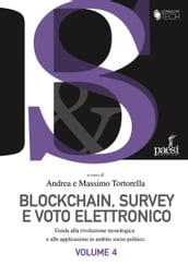 Blockchain, survey e voto elettronico