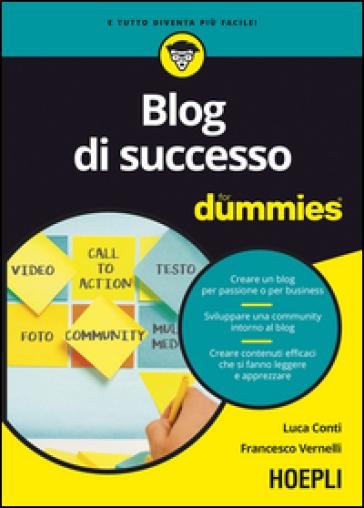 Blog di successo For Dummies - Luca Conti | Jonathanterrington.com