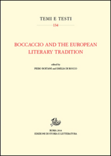 Boccaccio and the european literary tradition - Piero Boitani pdf epub