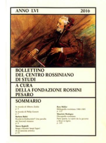 Bollettino del centro rossiniano di studi (2016). 56.
