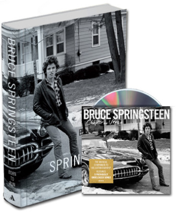 Born to run + Chapter & Verse cd