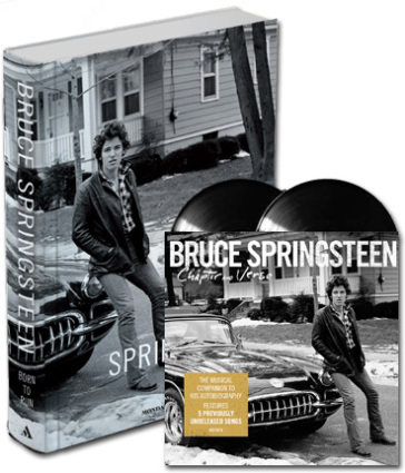 Born to run + Chapter & Verse 2 lp