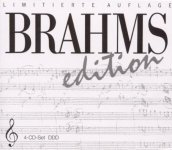 Brahms edition/4cd box