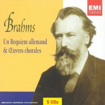Brahms : german requiem & choral works (5cd)