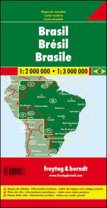 Brasile 1:2.000.000-1:3.000.000