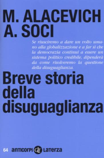 Breve storia della disuguaglianza - Michele Alacevich | Ericsfund.org