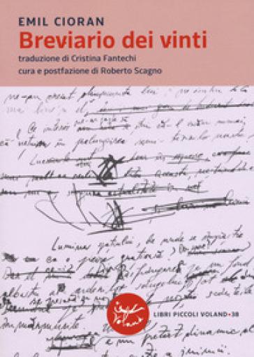 Breviario dei vinti - Emile Michel Cioran pdf epub