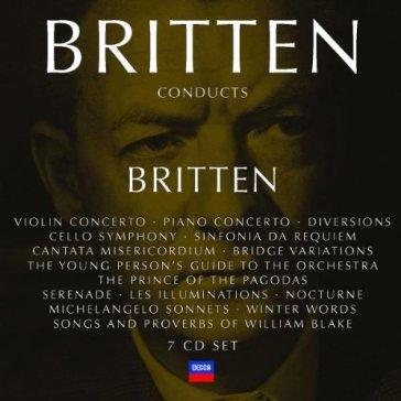 Benjamin Britten Conducts English Chamber Orchestra The English Chamber Orchestra Symphony No. 25 In G Minor K.183 - Symphony No. 29 In A Major K.201