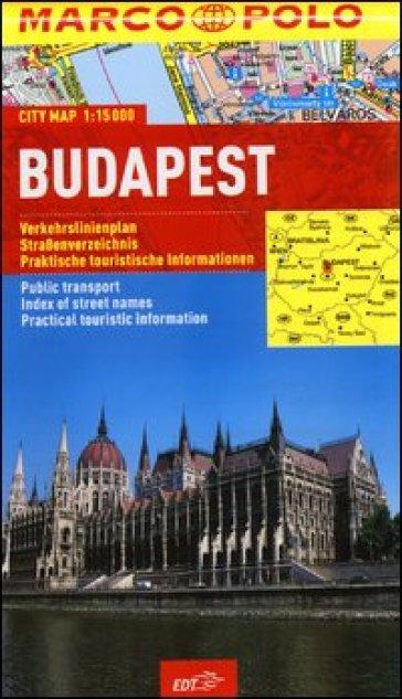 Budapest 1:15.000 -  pdf epub